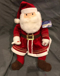 The-Polar-Express-Talking-Santa-Claus-18-034-Plush-Hallmark