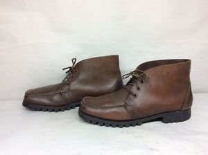 6-VTG-MENS-SEBAGO-TRAPERS-CHUKKA-WORK-LEATHER-BROWN-BOOTS-10-5-M