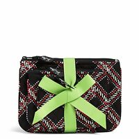 Vera Bradley Factory Exclusive Cosmetic Trio Makeup Bag Set In Minsk Plaid on sale