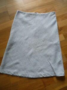 info for 5961e 0a2b2 Details zu Tweed- Rock von H&M in Gr. 36, hellblau-beige
