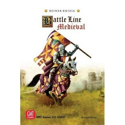 English Battle Line Medieval New by GMT