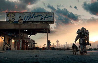 fallout poster 8 size 9.3X11.7/&11,7X16.5