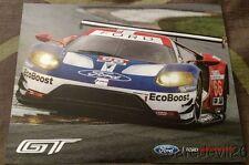 2016 Ganassi Racing Ford GT GTLM Rolex 24 IMSA WTSC postcard
