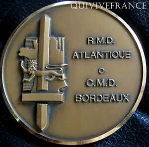 MED3842-MEDAILLE-RMD-ATLANTIQUE-CMD-BORDEAUX