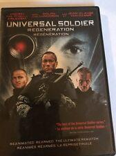 Universal Soldier Regeneration DVD Movie Jean-Claude Van Damme