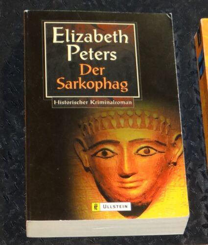 1 von 1 - DER SARKOPHAG Elizabeth Peters TOP neuwertig KEIN Mängelex Nichtraucher