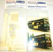 BOLS Stettnisch Nassschieber Berlin für DD Bus MAN SD200 1:87 H0 å *