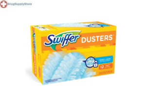 Mckds Swiffer Dusters Duster Refill Coated Fibers 10 Counts