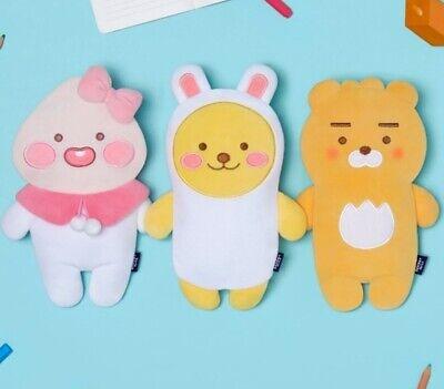 Kakao Little Friends Toy Pencil Case Pouch Pen Organizer Polyester Apeach Ryan