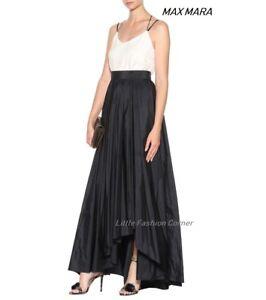 New-MAX-MARA-Black-Riber-Long-Skirt-size-14-USA-16-GB-44-D-48-I-46-F