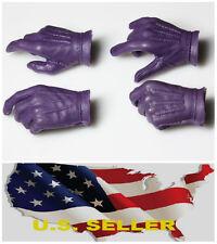 1/6 Batman Joker Men gloves hand for HoT Toys ZC Body For DX11 DX01 ❶US Seller❶