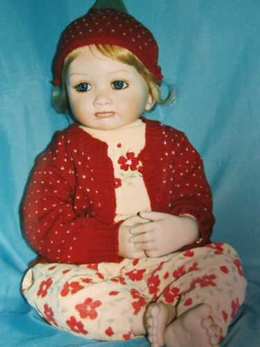 "NEW MASTER PIECE GALLERY LIMITED EDITION ARTIST DOLL ""ALEXA"" ..DL14"