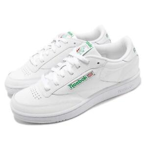 Détails sur Reebok Club C 85 White Green Men Classic Casual Lifestyle Shoes Sneakers AR0456