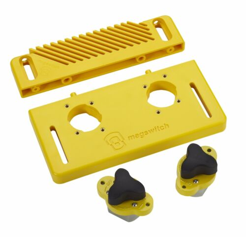 2 Mag Jig 150 Reversible Feather Board 8110134 Magswitch Starter Kit w// Base
