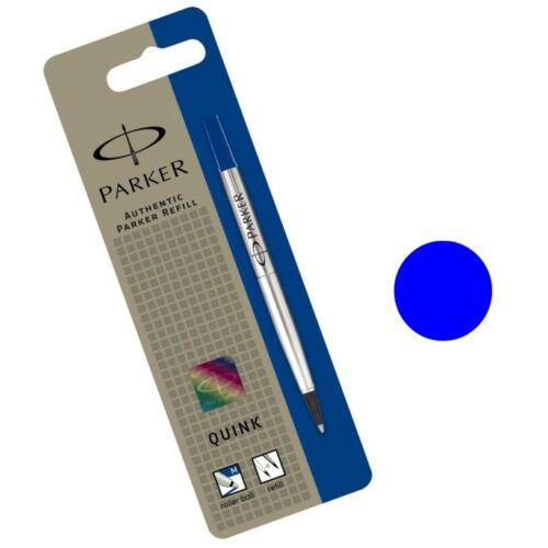 Recambio Roller PARKER  punto  F 0,5 AZUL o Negro ¡ Envio gratis !