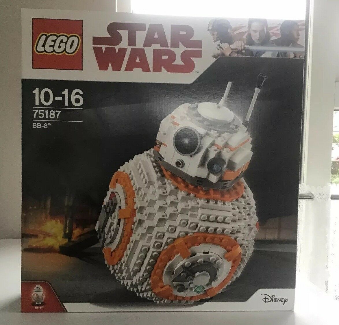 Lego Star Wars The Last Jedi BB-8 Set 75187 From 2017  Brand New