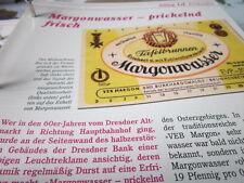 Das war die DDR Alltag Einkaufen Margonwasser prickelnd und Frisch
