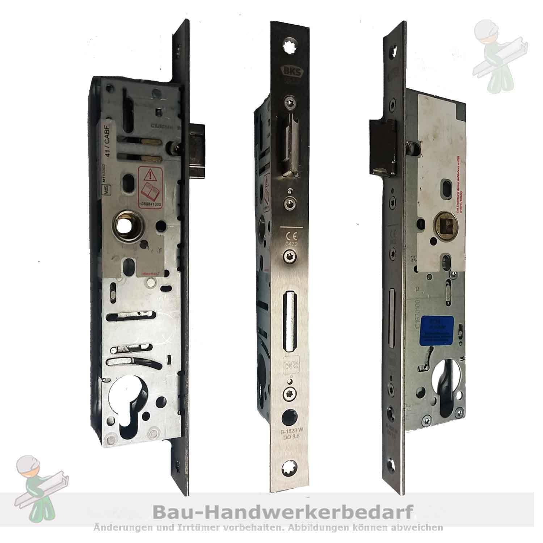 Rohrrahmenschloss BKS B-18280-13-U-8, KABA 35/92/9 mm R+L, VA-Stulp, 24 x 270 mm