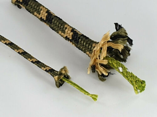 0,32€-0,65€//m Moro 6mm Grün oder Winter Tarnseil Grau Natoseil Tarn Leine Seil