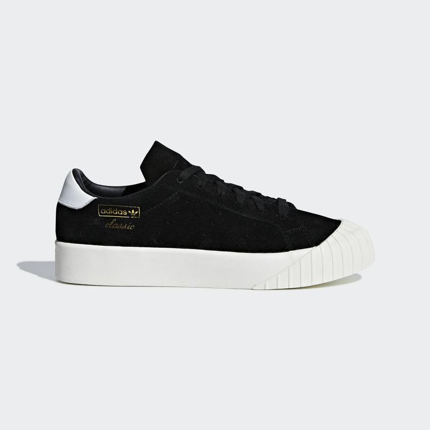 New Adidas Original femmes EVERYN noir   blanc B28090 US W 5 - 8 TAKSE