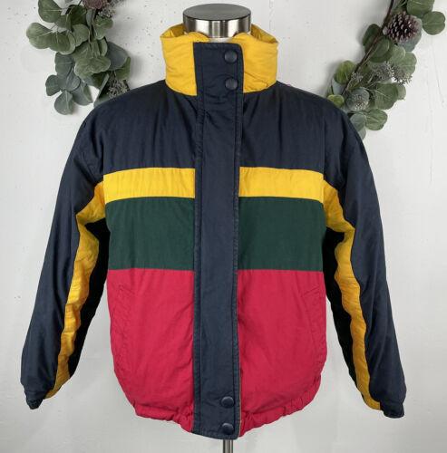 Vintage Andy Johns Jacket Sz M Ski Puffer Down Fil