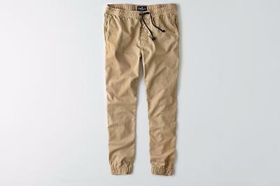 American Eagle Outfitters AEO Light Khaki Jogger Pants MSRP $44.95