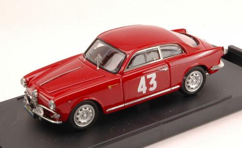 1:43 Vid Alfa Romeo Giulietta SPV #43 1st Class Tour De France 1956 Schell