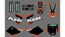 2002 2003 2004 2005 2006 2007 2008 KTM 50SX 50 SX KTM50SX Graphics Decals