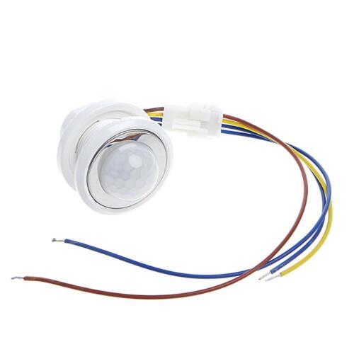 110 ° LEDs Infrarot Mini PIR Bewegungsmelder Einbau BewegungssensoLicht Schalter