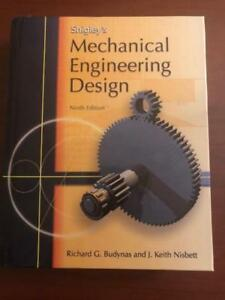 Shigley S Mechanical Engineering Design 9th Edition Ebay