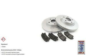 Brake Discs Pads Front Axle For Mercedes Benz 190