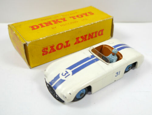 DINKY TOYS 133 Cunningham C5R Road Racer Metall Auto MADE IN ENGLAND K11