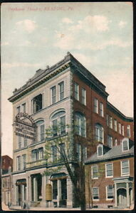 READING-PA-Orpheum-Theatre-Victor-039-s-Venetian-Band-Antique-Postcard-Old-Vtg-PC