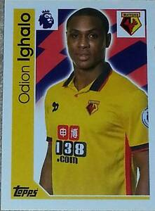 312 Odion Ighalo WATFORD 20162017 Topps Merlin Premier League sticker - <span itemprop='availableAtOrFrom'>BIRMINGHAM, West Midlands, United Kingdom</span> - 312 Odion Ighalo WATFORD 20162017 Topps Merlin Premier League sticker - BIRMINGHAM, West Midlands, United Kingdom