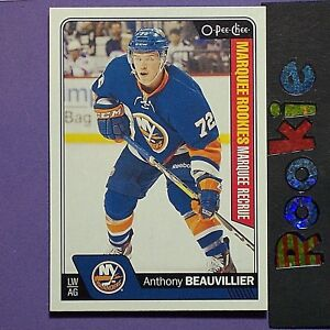 ANTHONY-BEAUVILLIER-RC-2016-17-O-Pee-Chee-ROOKIE-705-New-York-Rangers