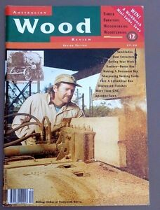 1996 AUSTRALIAN WOOD REVIEW Magazine Issue No. 12  TIMBER, WOODWORKING VGC 9771039992017