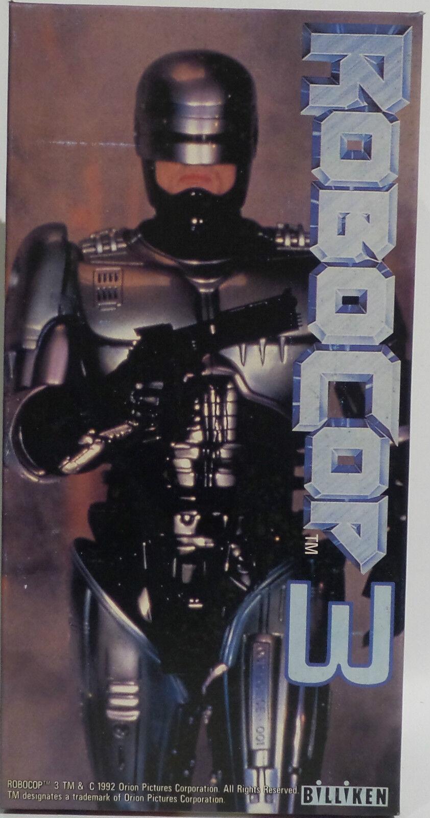 Robocop  Robocop Plato De Estaño Wind Up figura hecha por BILLIKEN en 1992