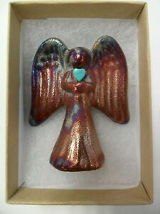 Raku-Pottery-Angel-By-Artist-Jeremy-Diller