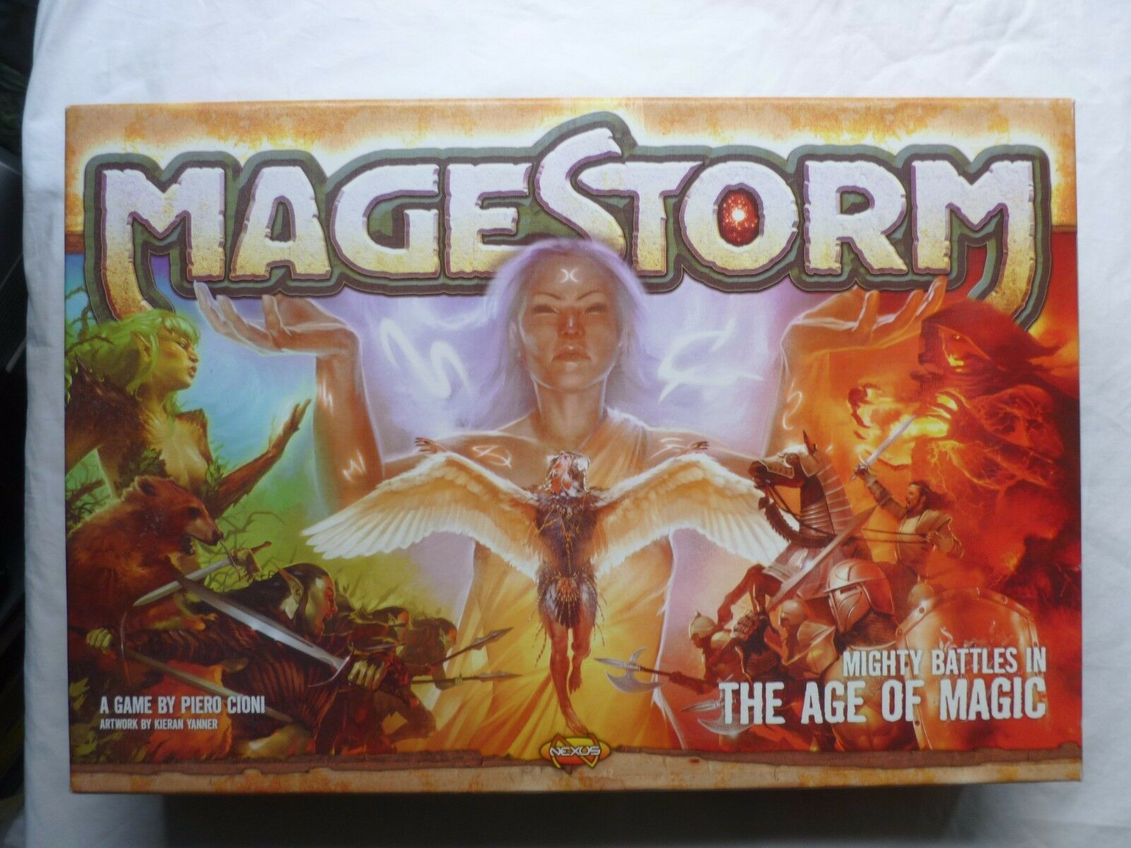 Mage Storm  Mighty Battles In The Age Of Magic  Magestorm strategy board game