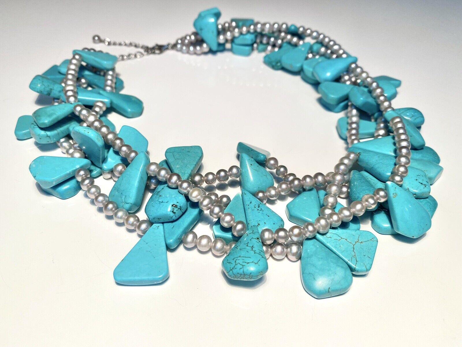 Diana Venezia Turquoise Necklace - image 5