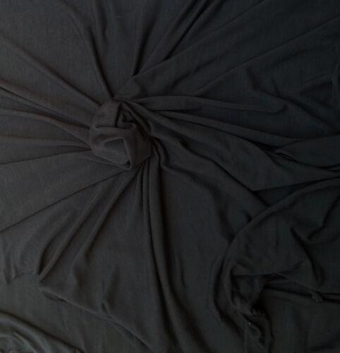 Jersey De Tela Spandex charocoal Micro Modal Punto por yarda 6//14