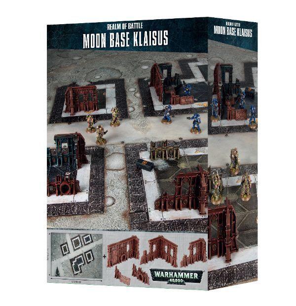 Warhammer 40K-Reino De Batalla-Moon Batalla-Moon Batalla-Moon base klaisus-Totalmente Nuevo-Envío Gratis  todos los bienes son especiales