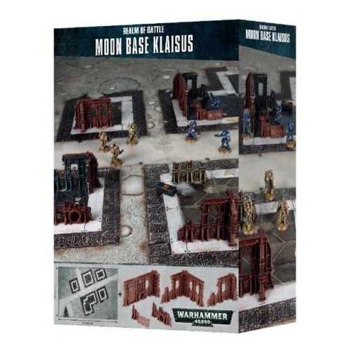 Realm of Battle Brand new Warhammer 40K Moon Base Klaisus Free Shipping