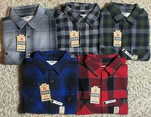 Men-039-s-Urban-Pipeline-Ultimate-Flannel-Long-Sleeve-Button-Down-Shirts-Size-S-NWT