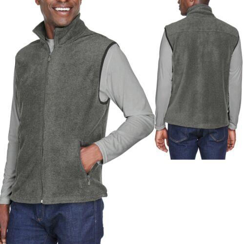 4XL BIG MENS Polar Fleece Vest Sleeveless Jacket Soft Warm Winter XL 3XL 2XL