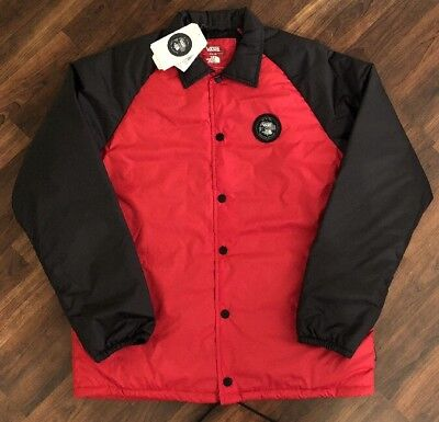 92b08dc53 Vans X The North Face Mens Torrey MTE Thermo Jacket Black Red Large ...