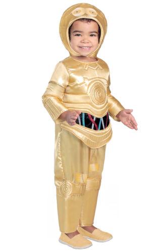 C-3PO PREMIUM Deluxe C3PO Star Wars Costume KIDS 18 24 months 2T 3T 3 4 5 6 7 8