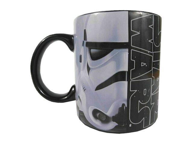 New Star Wars Darth Vader & Stormtrooper 20 oz. Ceramic Coffee Mug Large