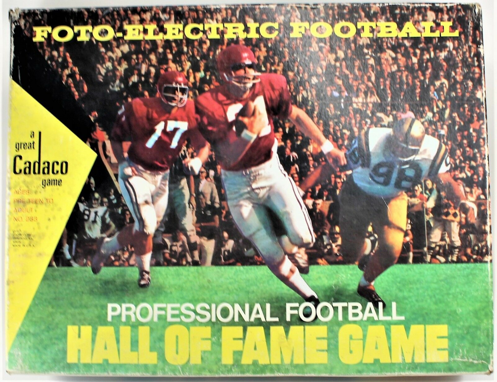 Foto-Electric Professional Football Hall of Fame Game Cadaco 1971