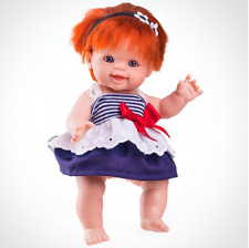 Paola Reina Baby Puppe Ines Paolita  20 cm rotes Haar